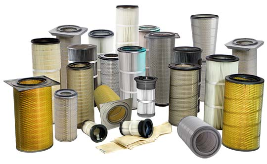 Industrial Cartridges Air Filtration Systems