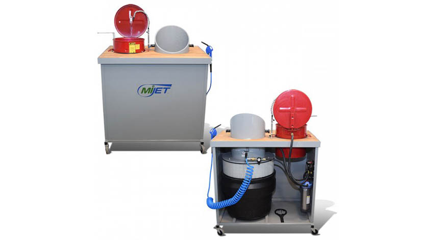 12 inch Diameter MiJET Wash Station